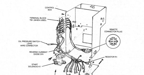 onan generator wiring diagram for model 65NH-3CR/16004P