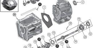 Interactive Diagram  Jeep CJ7 SR4 Transmission | Jeep