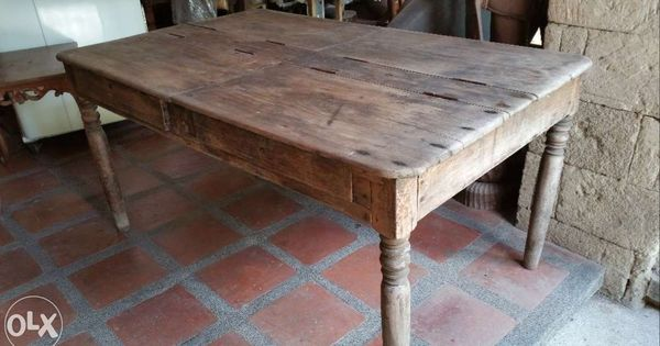 Antique Dining Table With Storage For Sale Philippines