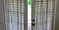DIY French Door Curtain Panel Tutorial. Wonder if I can do ...