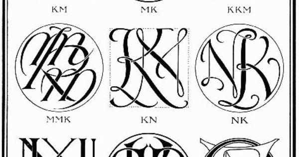 Project Gutenberg EBook of Monograms & Ciphers, by Albert