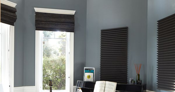 Beautiful traditional style music studio Get the look