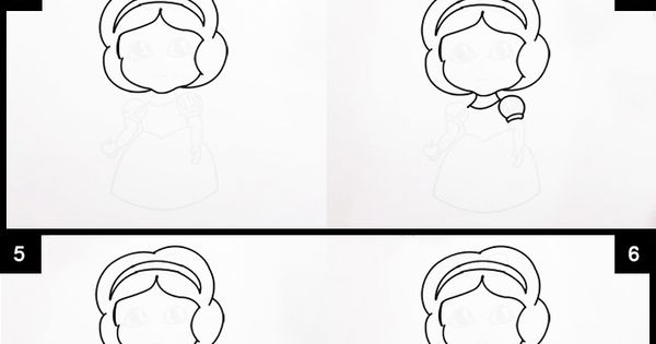 Follow easy step by step instructions on How to Draw Cute