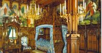 King Ludwigs Castle Neuschwanstein ~ Royal Bedroom ...