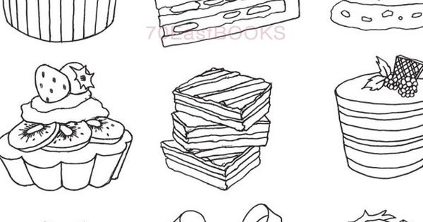 Only Bakery Coloring Book for beginners for kids by