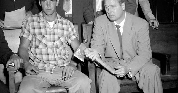 In 1956 21 Year Old Arthur Bauer Left Confessed To