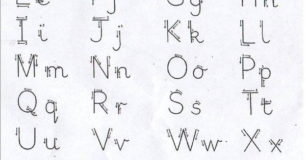 All Worksheets » Left Handed Letter Formation Worksheets