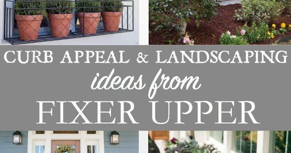 Fixer Upper Outdoor Lighting Curb Appeal And Landscaping Ideas From Fixer Upper | All