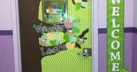 Observe Wonder Learn Classroom Door Decoration