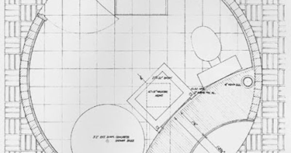 full details of glass house by philip johnson construction