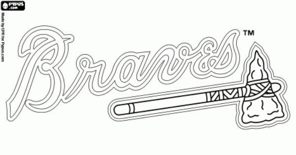 Atlanta Braves logo, professional baseball team of the
