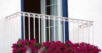 Balcony railing juliet balcony ideas small balcony garden ...