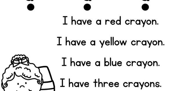 FREE Samples of my sight word reader and comprehension pre