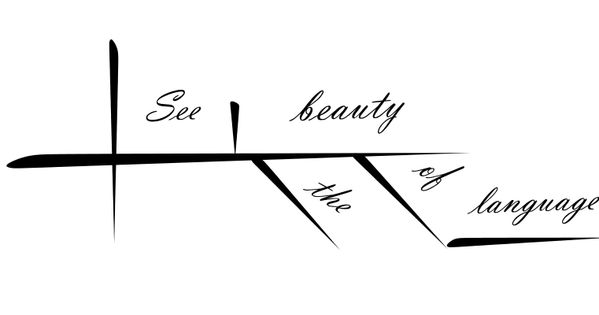 High tech, instant sentence diagramming.See the beauty of