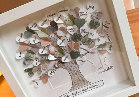 Bilder  Lebensbaum mit persnlichen Wnschen  ein
