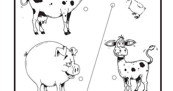 """""""Domaće životinje"""" je bojanka koja kreativno i maštovito"""