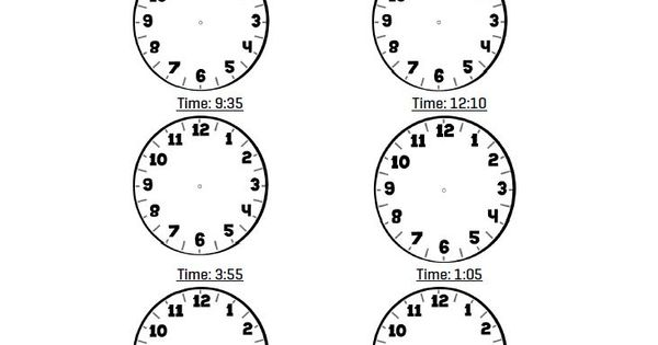 Telling time lesson for grade 3; EQAO, math and