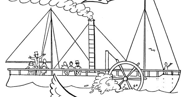 Robert Fulton steamboat early history for kids 036