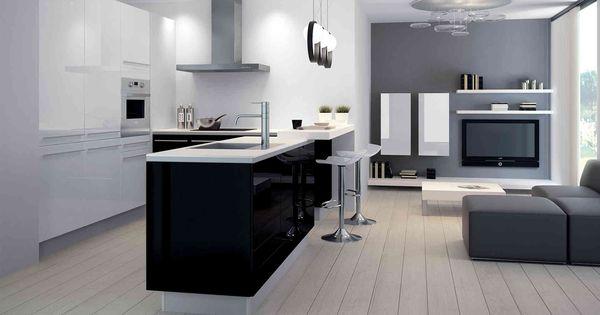Cuisine Equipee Design Et Moderne Ou Sur Mesure Cuisine Cuisinella Piece De Reve Dream Room Pinterest Cuisine Design And Cuisine Design