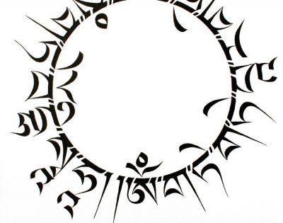 The Heart Sutra, in Sanskrit Bhagavati Prajnaparamita
