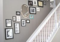 Stairway picture wall collage hallway | Home decor ...