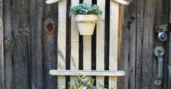Great Use For An Old Fence Scrap Wood Diy Projects