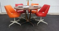 Mid Century Dinette Set ~ Retro Dining Table And Chairs ...