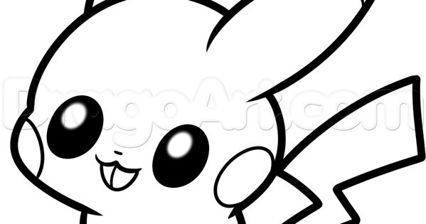 Chibi Pokemon Pikachu Coloring Pages Image Gallery