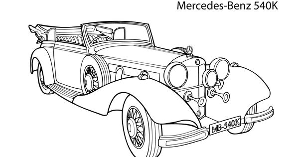 1999 Mercedes Benz Convertible Coloring Page Coloring Pages