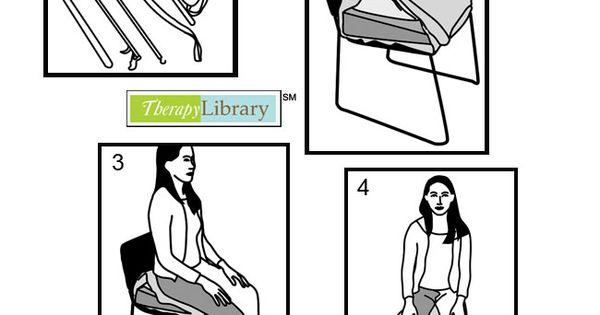 Observing Hip Precautions: Pictures show patients after