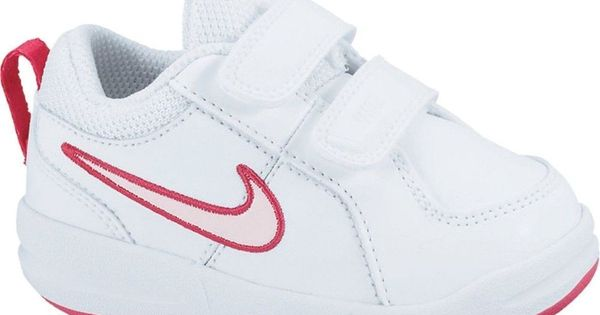 nike pico tdv white prism pink velcro infant baby nike athletic outfitz pinterest