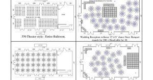 Banquet Table Set Up Diagram | buffet set up diagrams | Pinterest | Banquet tables, Banquet and