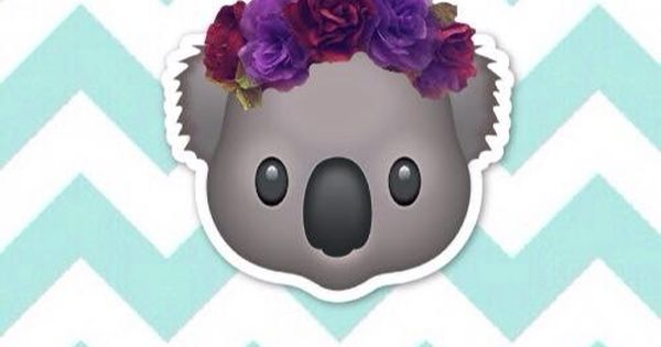 Cute Emoji Wallpapers Monkeys Koala Emoji Emojis ️⭐️☀️⚡️⚓️ Pinterest Best Emoji