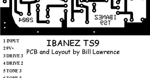 Ibanez Ts9 Screamer Pcb