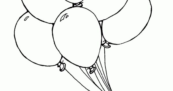 Free Printable Balloon Coloring Pages, balloons coloring