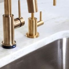 Delta Trinsic Kitchen Faucet Fruit Decor In Champagne Bronze. By ...