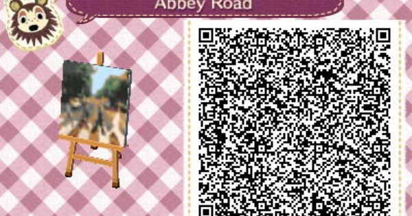 Animal Crossing New Leaf Wallpaper Qr Abbey Road Beatles Pattern Animal Crossing New Leaf Qr