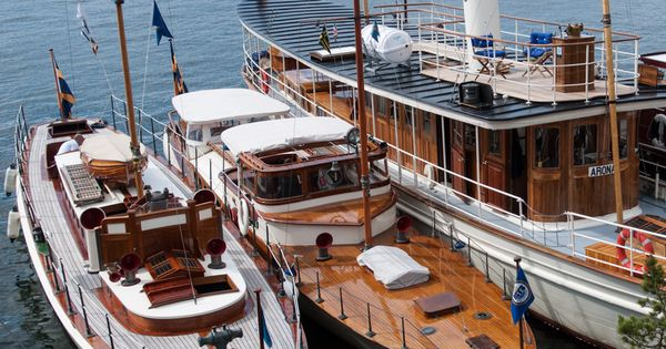 Three Classic Swedish Yachts Tournesol 1912 Vitesse