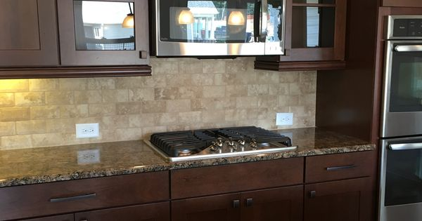Clean Wood Kitchen Cabinets Gourmet Kitchen With Easy To Clean Cooktop, Beautiful