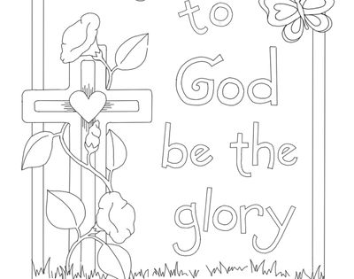 Here are some beautiful printable coloring pages to send