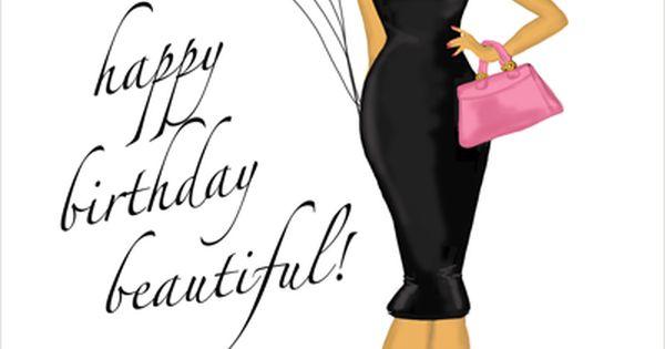 Birthday Balloons Card A Fabulous Fashion Art
