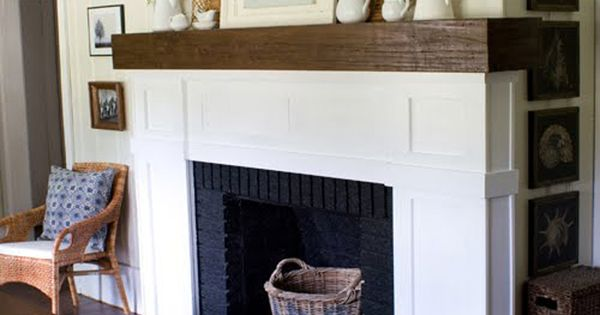 Modern Shaker Style Fireplace Mantel Shelf For The Home