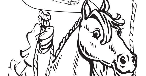 Free western VBS 2013 coloring sheet from Guildcraft Arts