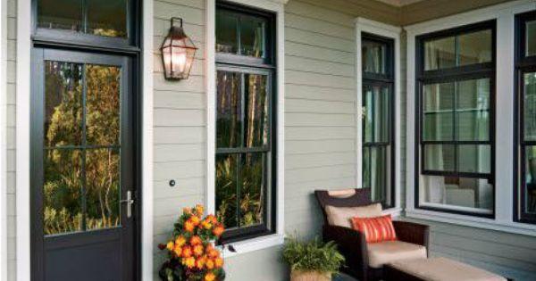 Jen Weld Casement Windows Love The Color Of The Window