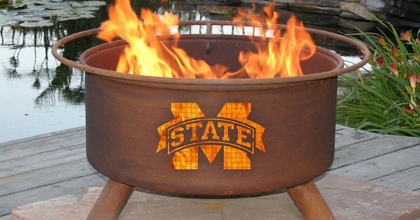 Collegiate Fire Pit For The Home Pinterest