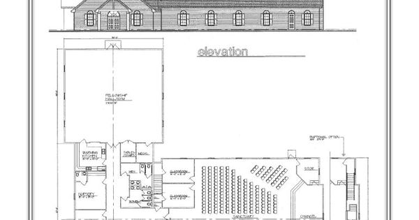 10,000 sq feet, 5 classrooms, nursery and fellowship hall