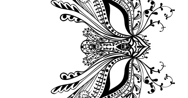 Adult Coloring Book: Butterflies and Flowers : Stress