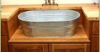 sink galvanized kitchen - Google Search | Interior design ...