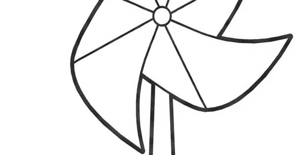 Decorate your own pinwheel to support happy, healthy