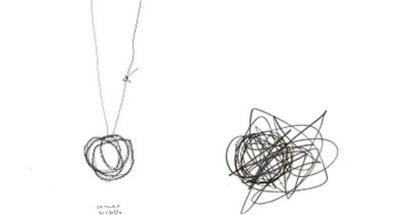 Alison Macleod's Jewellery Design Sketchbook Knot necklace